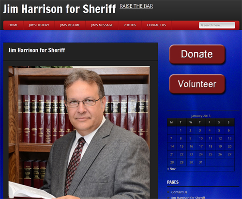 Jim Harrison For Sheriff