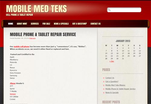 Mobile Med Teks